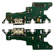 Нижня плата Honor 20/20 Pro/Nova 5T (YAL-L21/YAL-L41) з конектором зарядки + мікрофон + компоненти