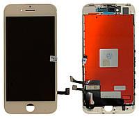 Дисплей (модуль) iPhone 7 з сенсором білий ААА