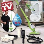 Парова Швабра H2O Mop X5 зелена