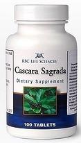 Крушина Каскара саграда  100 таб мг очищение кишечника, натуральное слабительное, от запоров USA