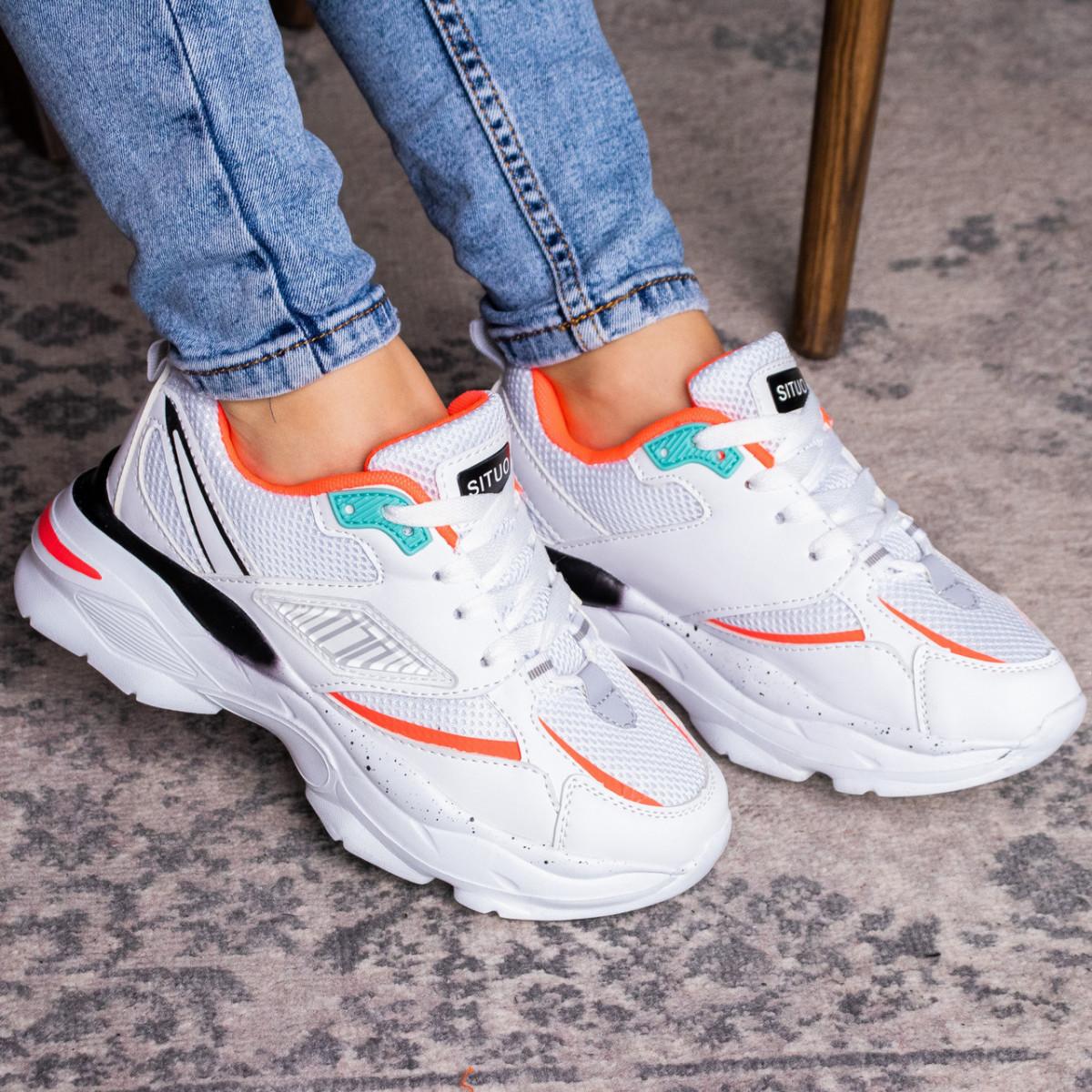 Женские кроссовки Fashion Caruso 1611 36 размер 23 см Белый