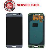 Дисплей + сенсор Samsung J530 2017 J5 PRO Сріблястий Оригінал 100% SERVICE PACK GH97-20738B
