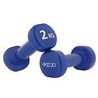 Гантели виниловые 4FIZJO 2 x 2 кг SKL41-277672