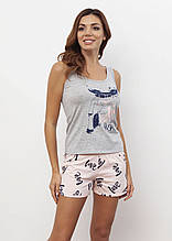 Домашній костюм (піжама) з шортами ТМ Роксана колекція LOVE 1093