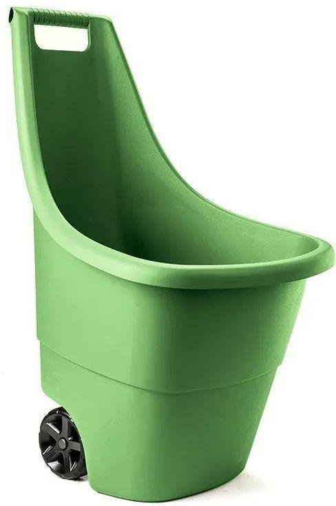 Садовая тачка 50 л. зеленая Израиль 590671