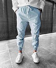 Чоловічі спортивні штани (сірі) на гумках і шнурку Skor26