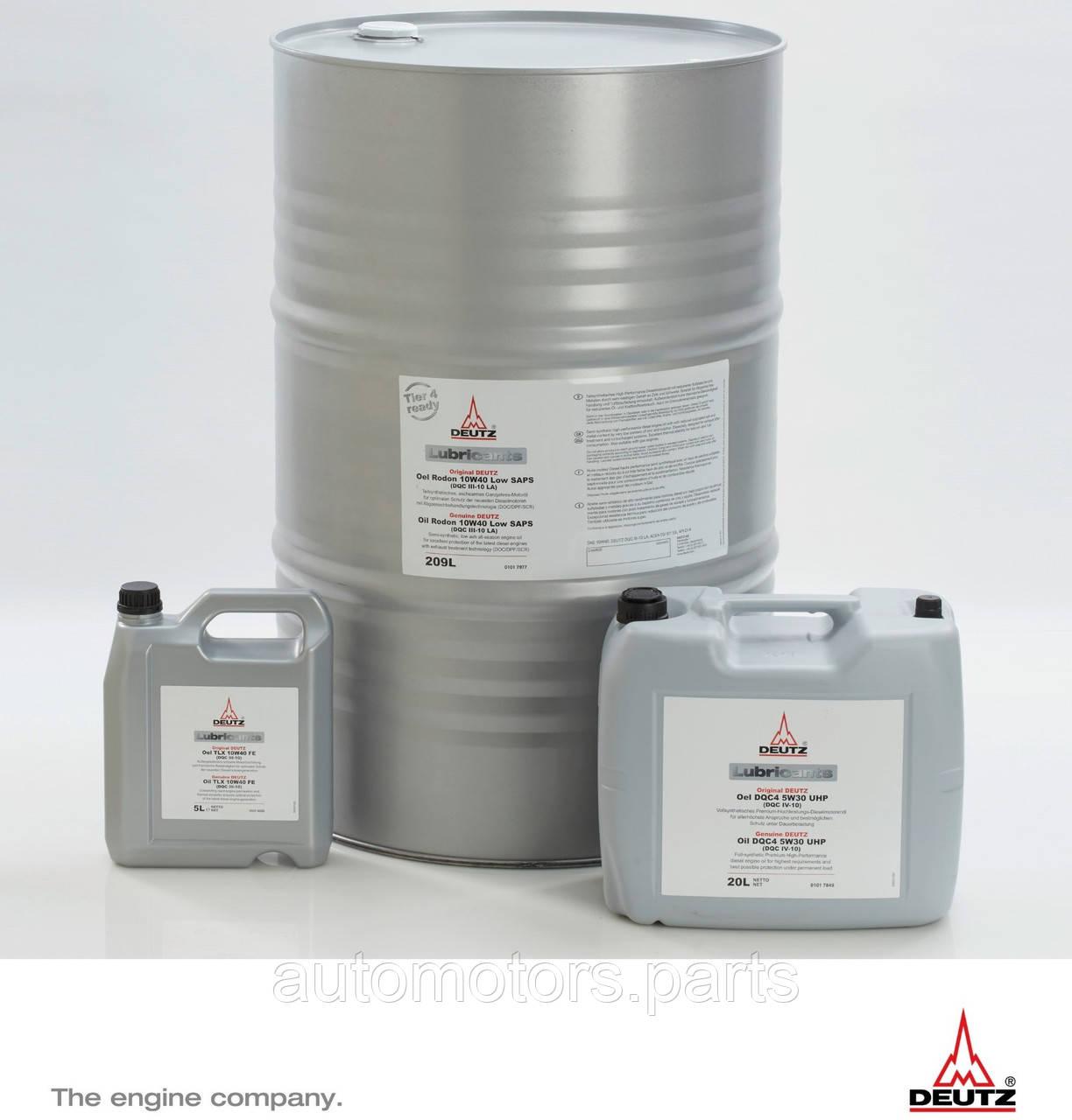 Масло моторное для дизельных двигателей DEUTZ DQC4 5W30 UHР
