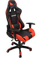 Бюджетный стул до 120 кг компьютерный эргономичный игровой из кожзама
