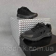 Чоловічі кросівки Under Armour Hovr (Чорні) О10476 спортивна модне взуття