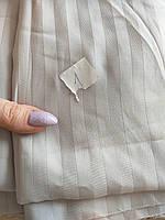 Сатин серый (Турция) отрез 1м