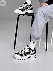 Женские кроссовки New Balance 530 abzorb (бело-черные) 655GL спортивные крутые кроссы