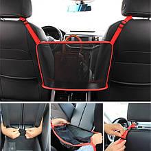 Багатофункціональна сумка-органайзер для авто / Автомобільний кишеньковий тримач сумок Обмежувач тварин