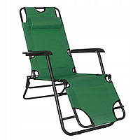 Шезлонг (крісло-лежак) для пляжу, тераси та саду Springos Zero Gravity GC0005, фото 1