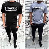 Чоловік спортивний костюм двійка футболка + штани тканина турецька кулірка розміри: с, м, л, хл, 2хл., фото 4