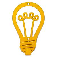Вешалка настенная Крючок Glozis Lamp H-029 12 х 8 см, КОД: 241770