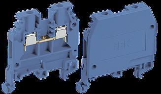 Зажим наборный ЗНИ-2.5мм2 (JXB24А) синий (без маркера) IEK