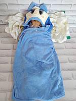 Уголок для купания 130*65 см. полотенце для моря микрофибра плюш Solafa 5704