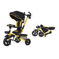 Детский трёхколёсный велосипед Flip, «Tilly» (T-390), цвет Yellow (жёлтый)