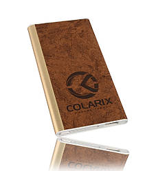 Повербанк COLARIX PB-L5000-2A-VL03-8 5000 мАч 2A, КОД: 1912703
