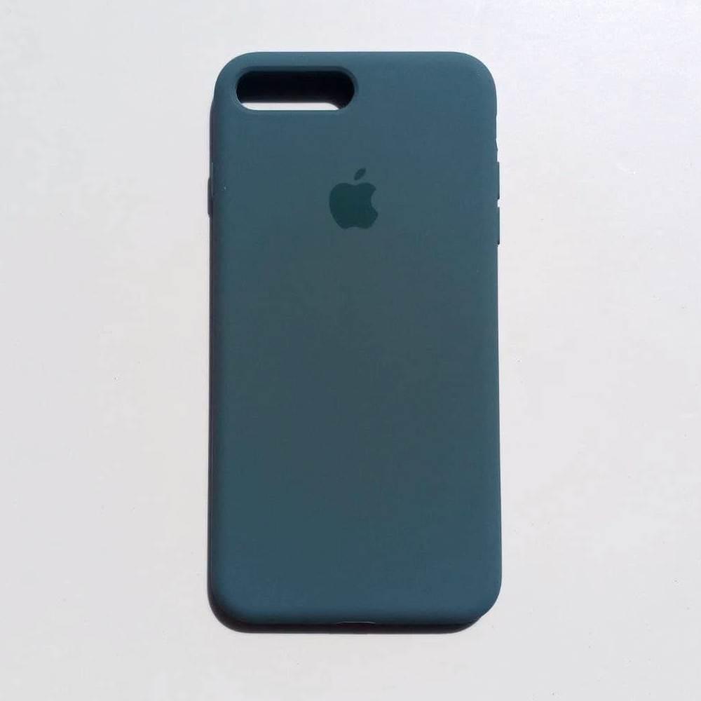 Чохол-накладка Silicone Case для Apple iPhone 7 Plus iPhone 8 Plus Ash