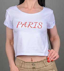 """Топ женский """"Paris"""", размер: S  (S005), Белый"""