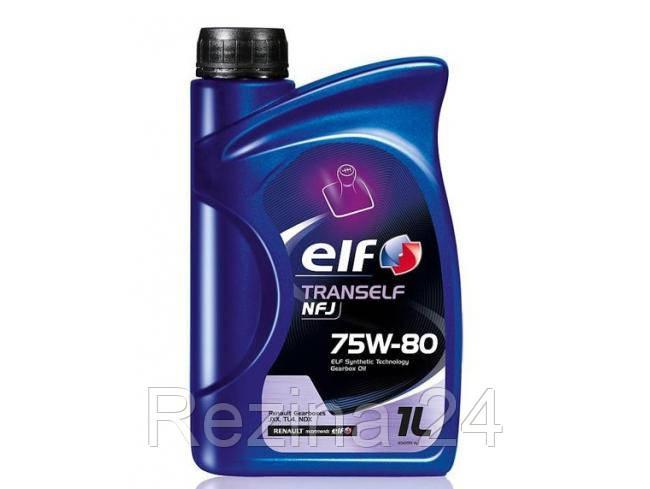 Трансмиссионное масло Total Elf Tranself NFJ 75W-80 1л - Rezina 24 в Львове