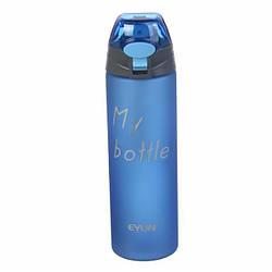 Спортивна пляшка для води Evun 67-720, 700 мл, синя