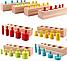 Развивающая игра цилиндры монтессори цветные ., фото 3