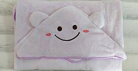 Уголок для купания 90*90 см. полотенце для моря микрофибра плюш Solafa 5705
