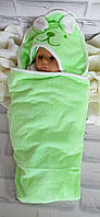 Уголок для купания 85*85 см. полотенце  микрофибра  5706