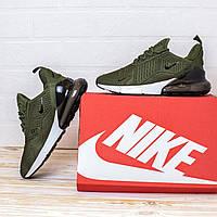 Мужские Кроссовки Nike Air Max 270 повседневные кросы Найк Аир Макс 270 цвет Хаки