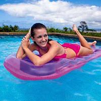 Матрас надувной (розовый) 59895, Intex,Пляжный матрас для плавания, Детский надувной круг для купания,