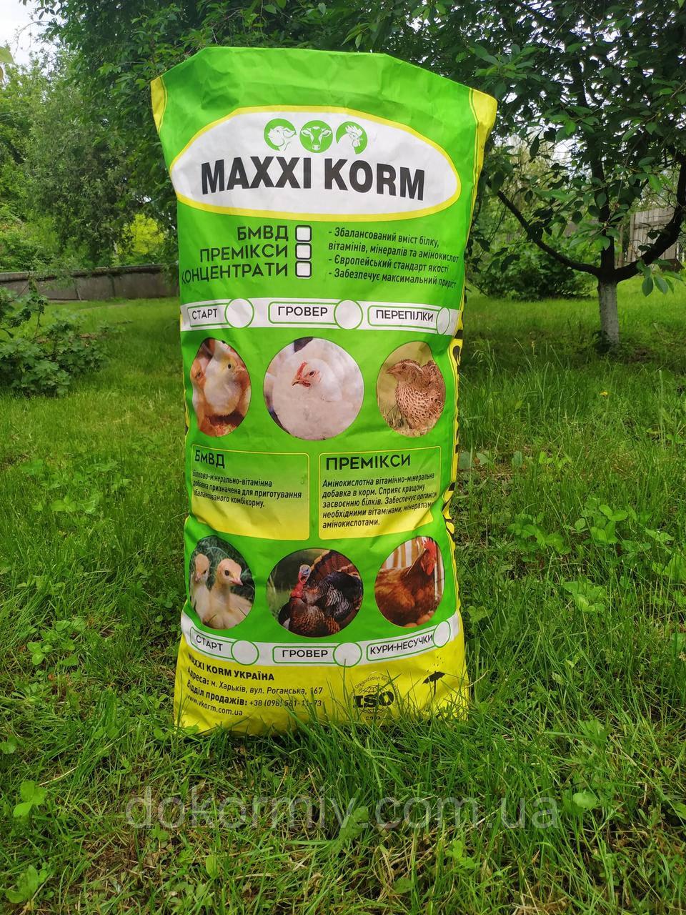 БМВД MAXXI KORM 15% для кур-несушек