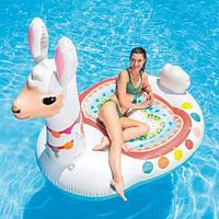 """Плот надувной """"Лама"""" 57294, Intex,Пляжный матрас для плавания, Детский надувной круг для купания, Надувная"""