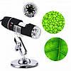 Цифровий USB мікроскоп Digital Microscope zoom з Led підсвічуванням ZOOM 1600X Art-0484, фото 3