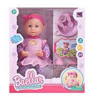 "Интерактивная кукла ""Baellar"" с аксессуарами 6499, Baellar,Беби борны, Игровые пупсы, Пупс карапуз, Baby born,"