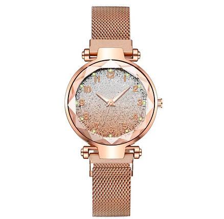 Часы женские  звёздное небо ремешок на магнитике 5 цветов, фото 2