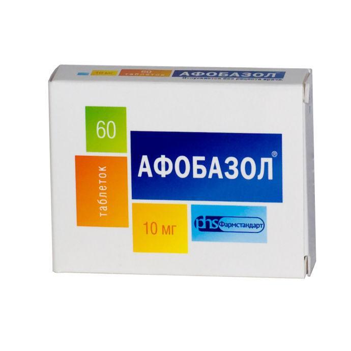 Афобазол, 60 таб, 10мг
