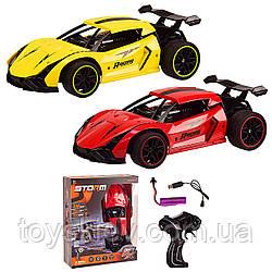 Машина аккум р у 666-772A (36шт 2) 2 цвета,в кор. 27*9*33 см, р-р игрушки – 28*14*8.5 см