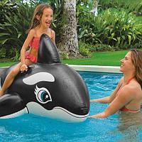 """Надувной плотик """"Касатка"""" 58561, Intex,Пляжный матрас для плавания, Детский надувной круг для купания,"""