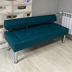 Офісний диван двомісний без підлокітників Тонус екошкіра БЕЗКОШТОВНА ДОСТАВКА