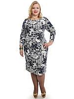 Шикарное женское платье,размеры 48-62,модель ДК 527, фото 1