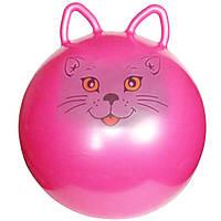Мяч для фитнеса MS 0937 с ушками (Котик),Шар для йоги, Мяч для фитнеса для беременных, Мяч для фитнеса