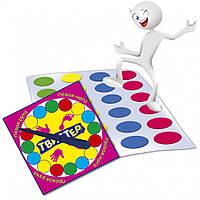 """Игра """"Твистер"""" MKT0101,Игра детская настольная, Настольные игры для компании, Семейные настольные игры,"""