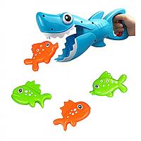 Рыбалка акула 33898,Игрушки на присосках в ванную, Игрушки в ванную на присосках, Игрушки в ванну для малышей,