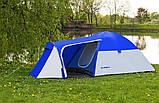 Намет 3-х місна Presto Acamper MONSUN 3 PRO синя - 3500мм. Н2О - 3,4 кг, фото 4