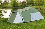 Намет 3-х місна Presto Acamper MONSUN 3 PRO зелена - 3500мм. Н2О - 3,4 кг, фото 3