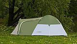 Намет 3-х місна Presto Acamper MONSUN 3 PRO зелена - 3500мм. Н2О - 3,4 кг, фото 4