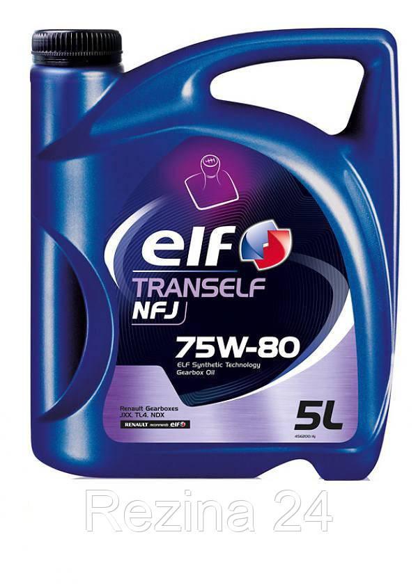 Трансмиссионное масло Total Elf Tranself NFJ 75W-80 5л - Rezina 24 в Львове