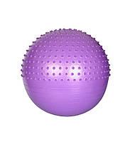 Мяч для фитнеса-65см MS 1652 (Фиолетовый),Шар для йоги, Мяч для фитнеса для беременных, Мяч для фитнеса